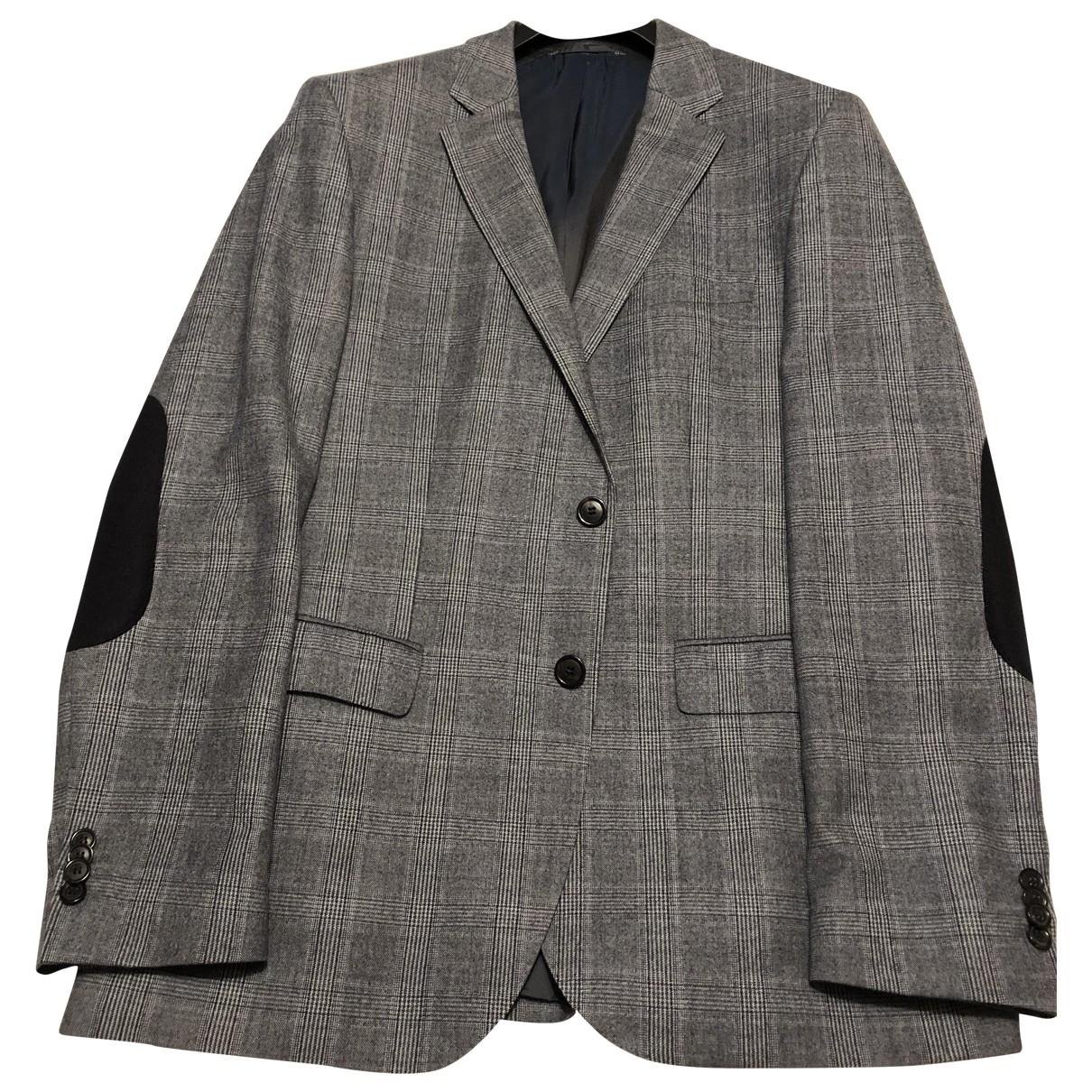 Hugo Boss - Vestes.Blousons   pour homme en laine - multicolore
