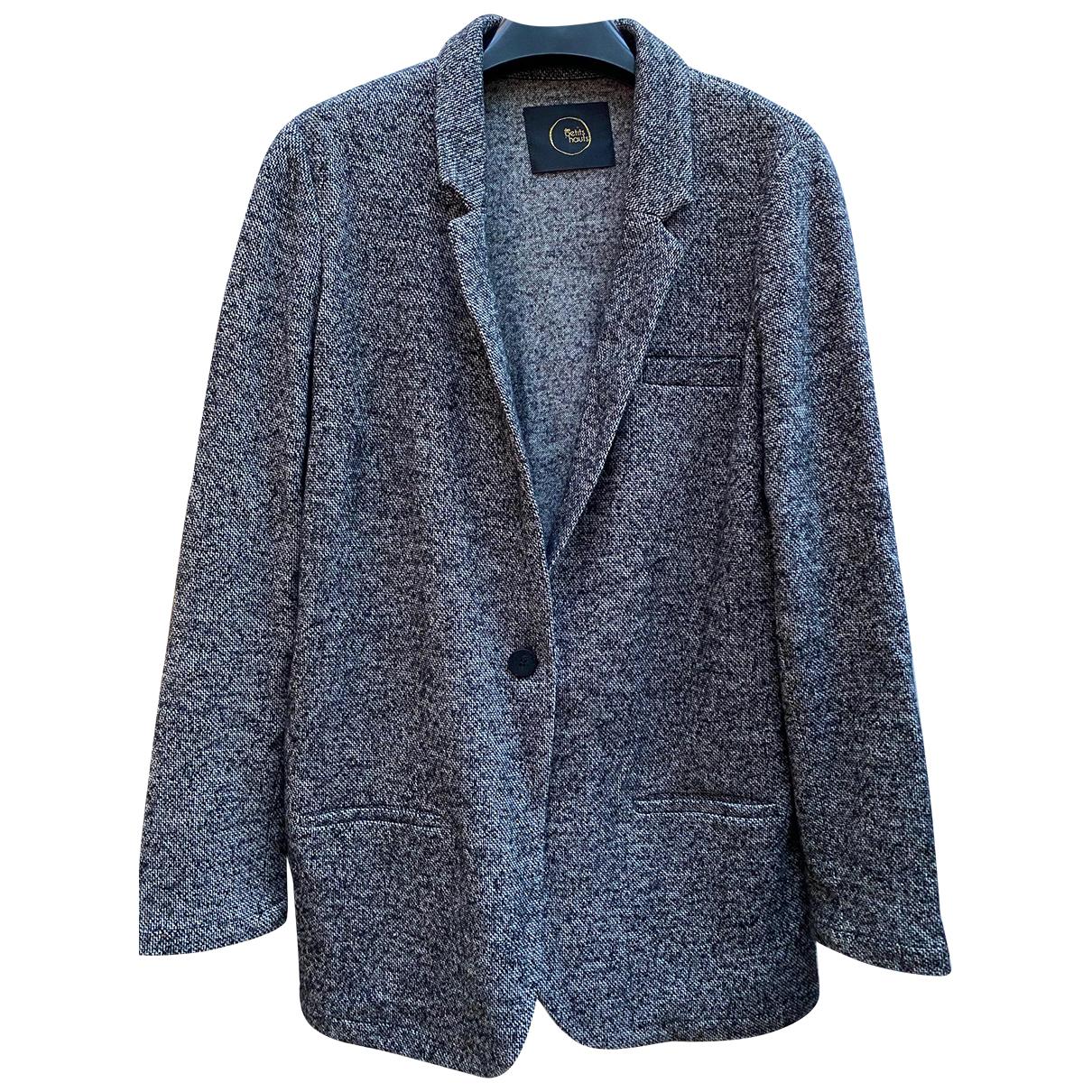 Des Petits Hauts N Grey Wool jacket for Women 38 FR