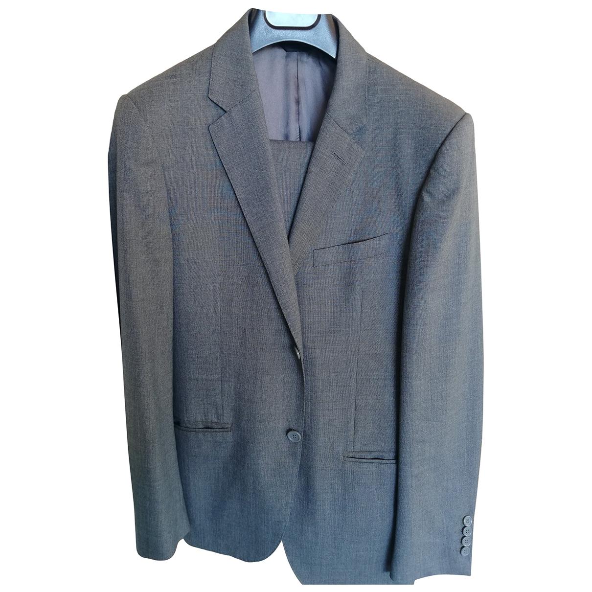 Calvin Klein \N Grey Wool Suits for Men 46 IT