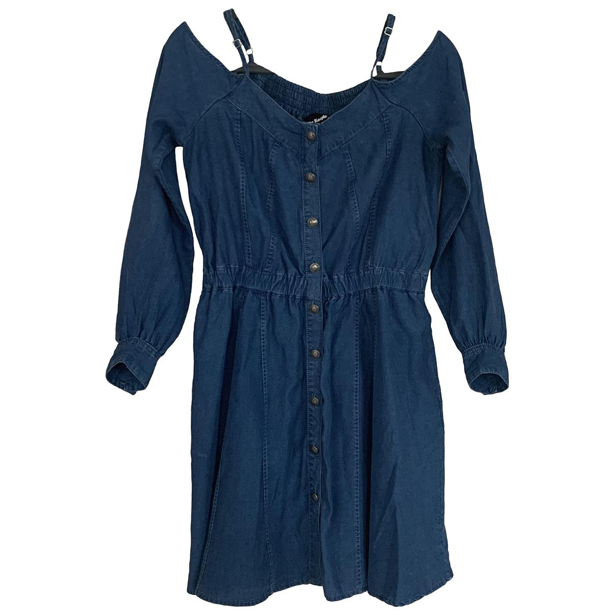The Kooples N Blue Denim - Jeans dress for Women 3 0-5