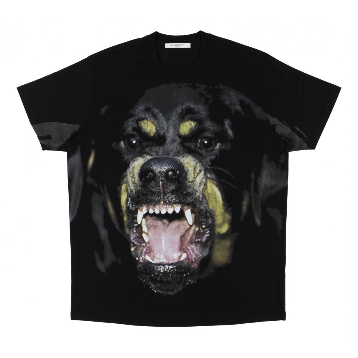 Givenchy \N Black Cotton T-shirts for Men L International