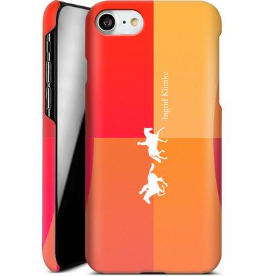 Apple iPhone 7 Smartphone Huelle - Geometric Silhouette von Ingrid Klimke