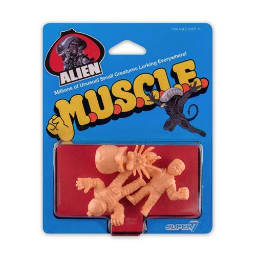 Alien M.U.S.C.L.E. Pack B Mini-Figures - Egg, Parker, Kane in Spacesuit