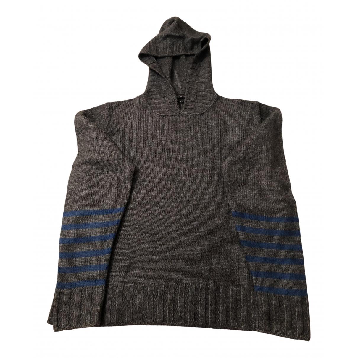 Max Mara Weekend \N Pullover in  Grau Wolle