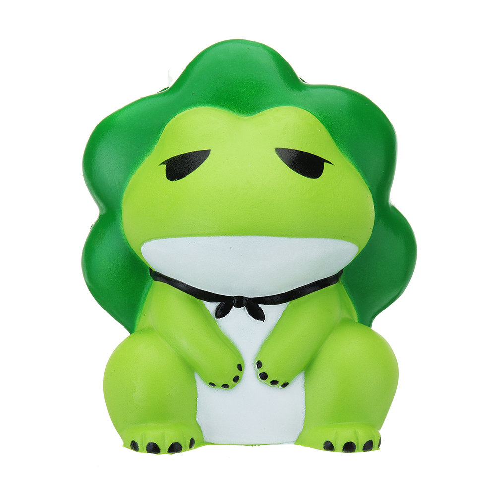 Frog Squishy Soft Toy Slow Rising With Packaging Collection Gift