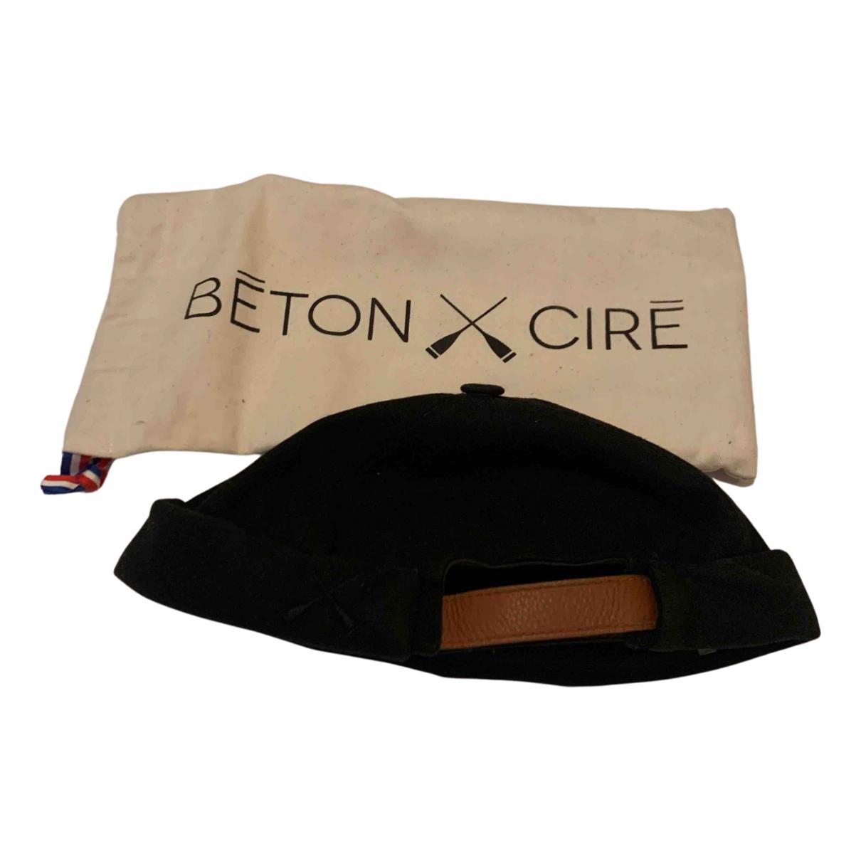 - Chapeau & Bonnets   pour homme en toile - noir