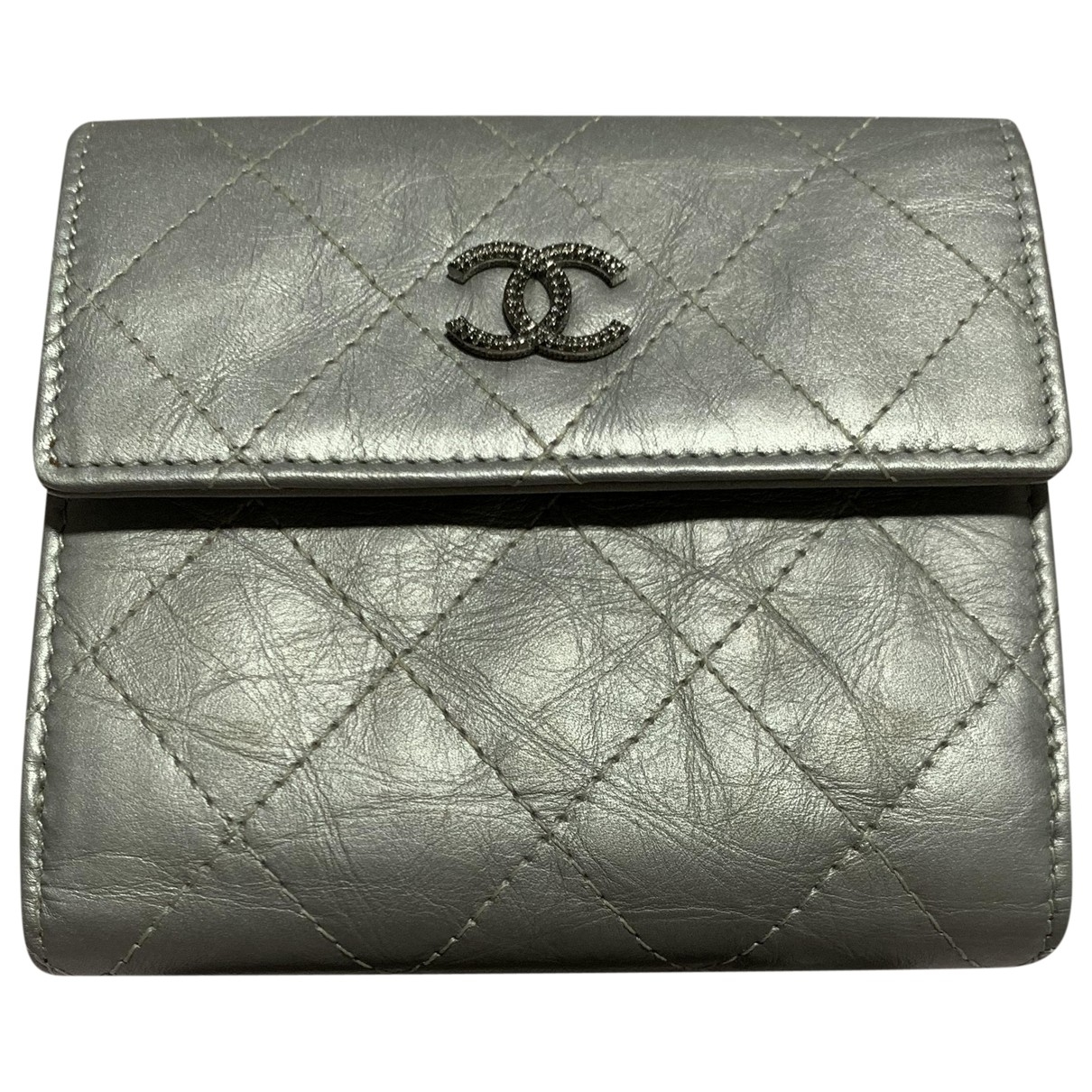 Chanel Timeless/Classique Metallic Leather wallet for Women \N