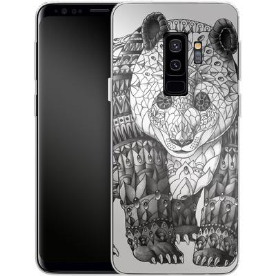 Samsung Galaxy S9 Plus Silikon Handyhuelle - Panda von BIOWORKZ