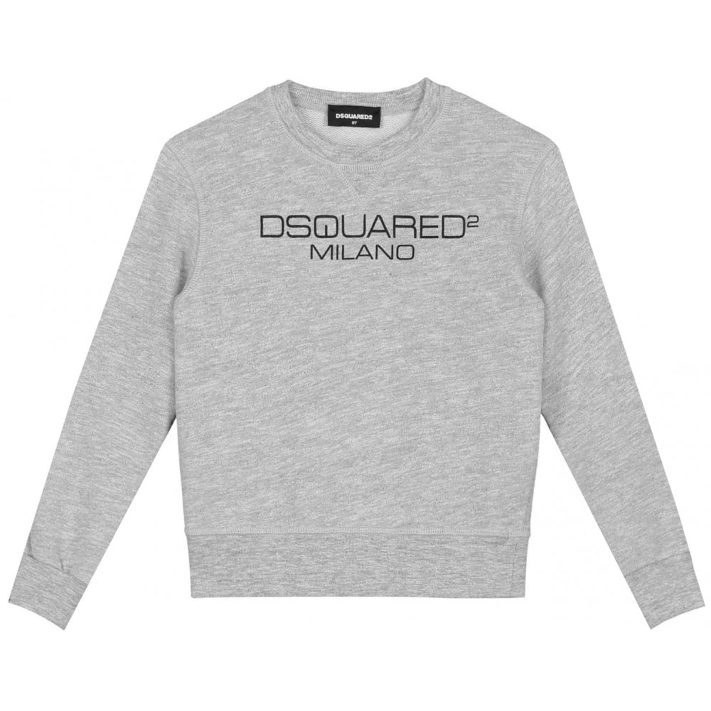 Dsquared2 Milano Sweater Colour: GREY, Size: 16 YEARS