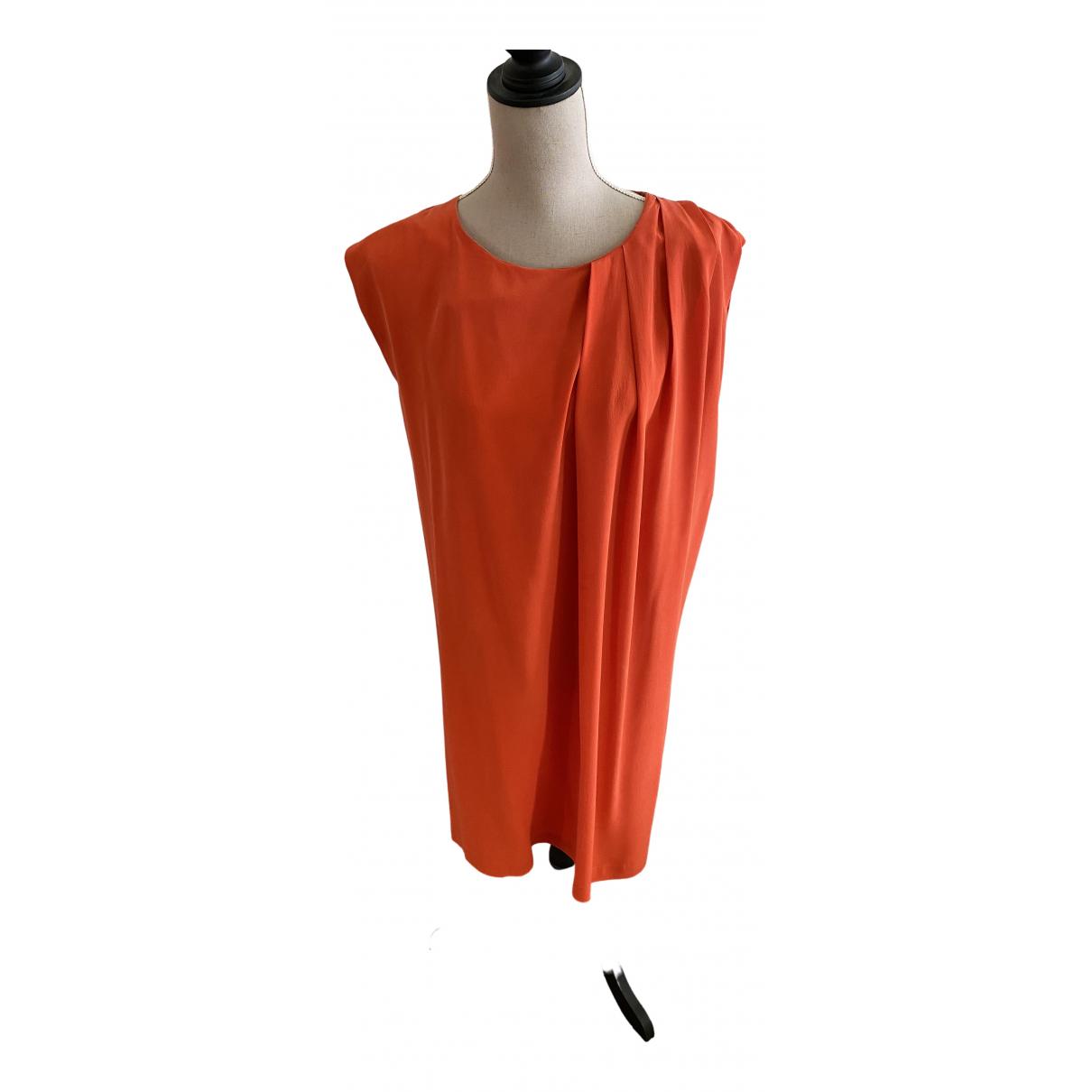 Les Petites \N Orange Silk dress for Women M International