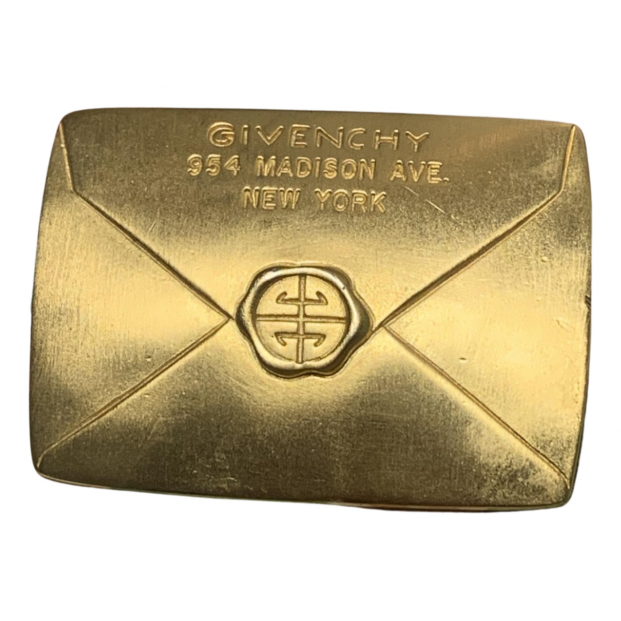 Givenchy N Gold gold and steel Pins & brooches for Women N