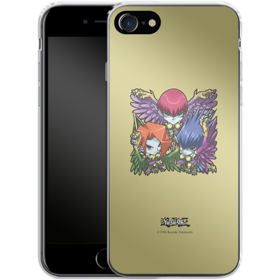 Apple iPhone 8 Silikon Handyhuelle - Harpie Lady Sisters SD von Yu-Gi-Oh!