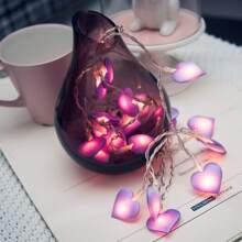 Heart Bulb 20pcs String Light
