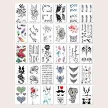 30pcs Mix Pattern Tattoo Sticker