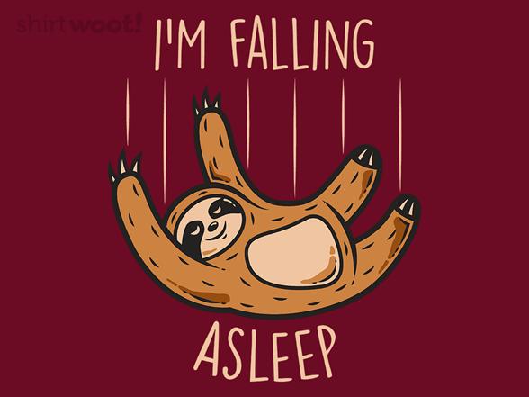 Falling Asleep T Shirt