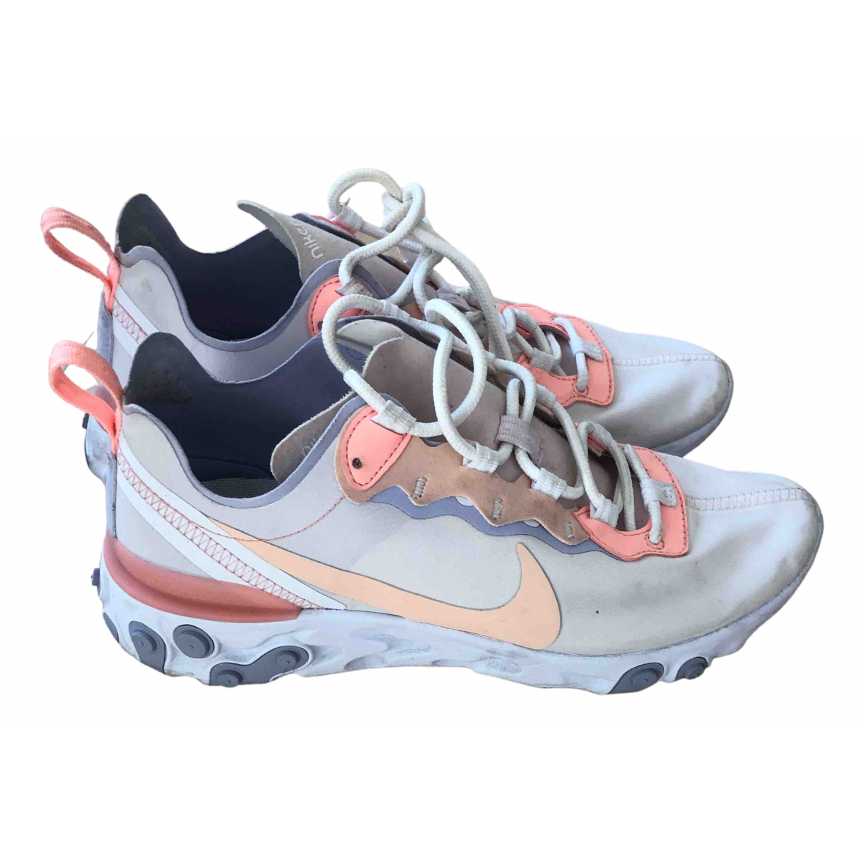 Nike React element 55 White Cloth Trainers for Women 39 EU