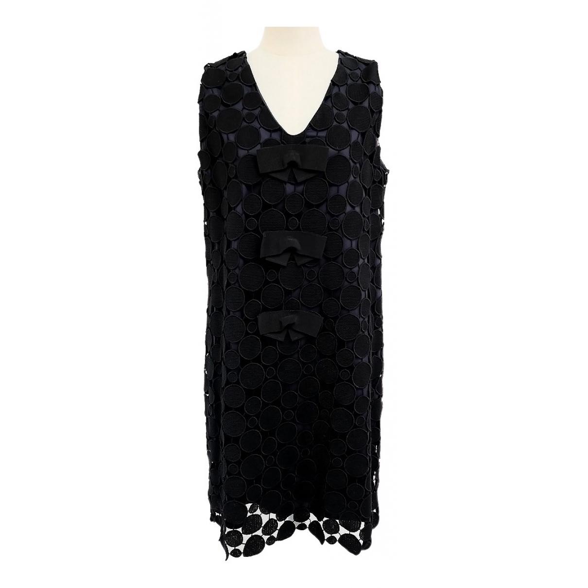 Max Mara - Robe   pour femme en coton - elasthane - noir