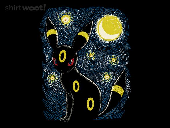 Starry Psychic Night T Shirt