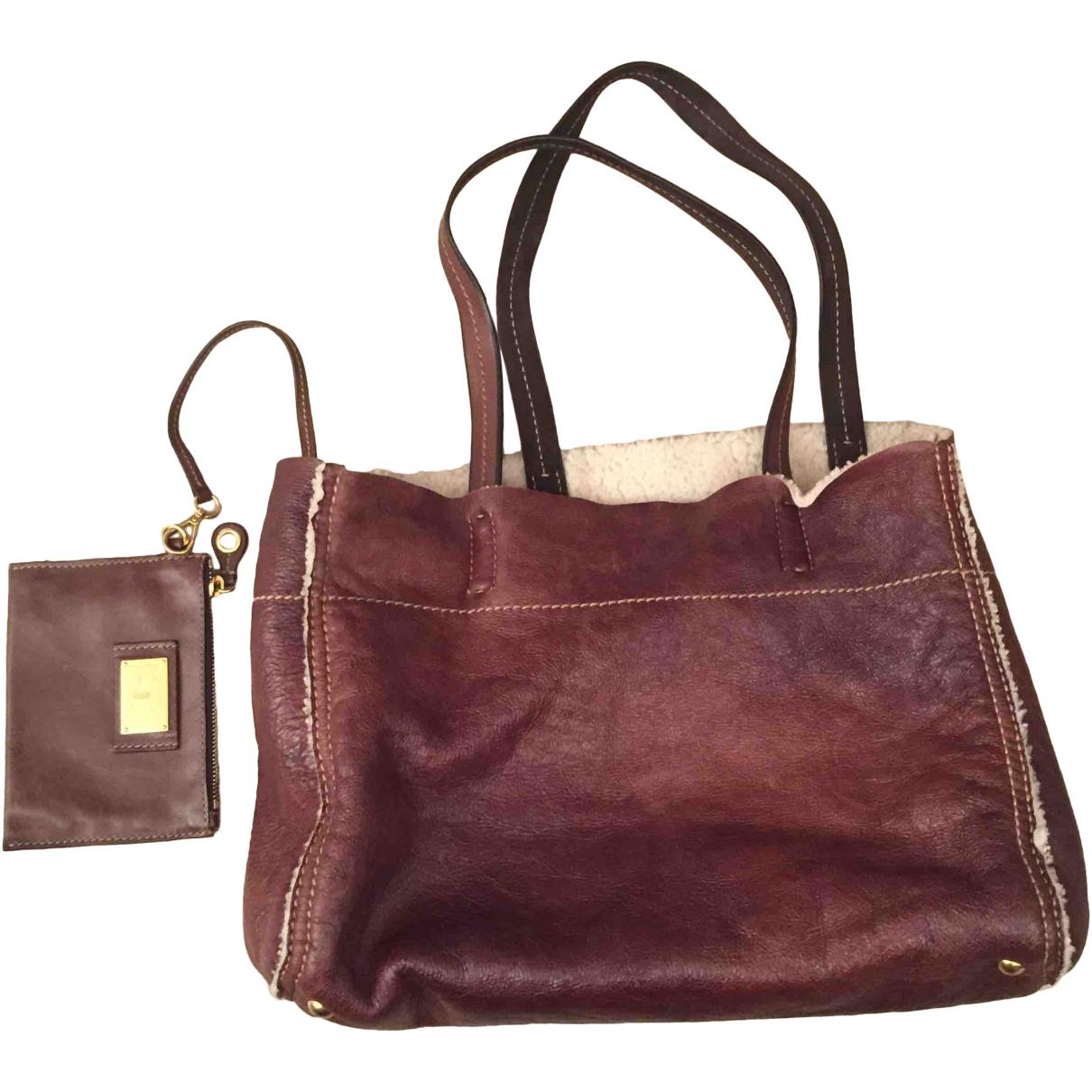 Carshoe \N Brown Shearling handbag for Women \N