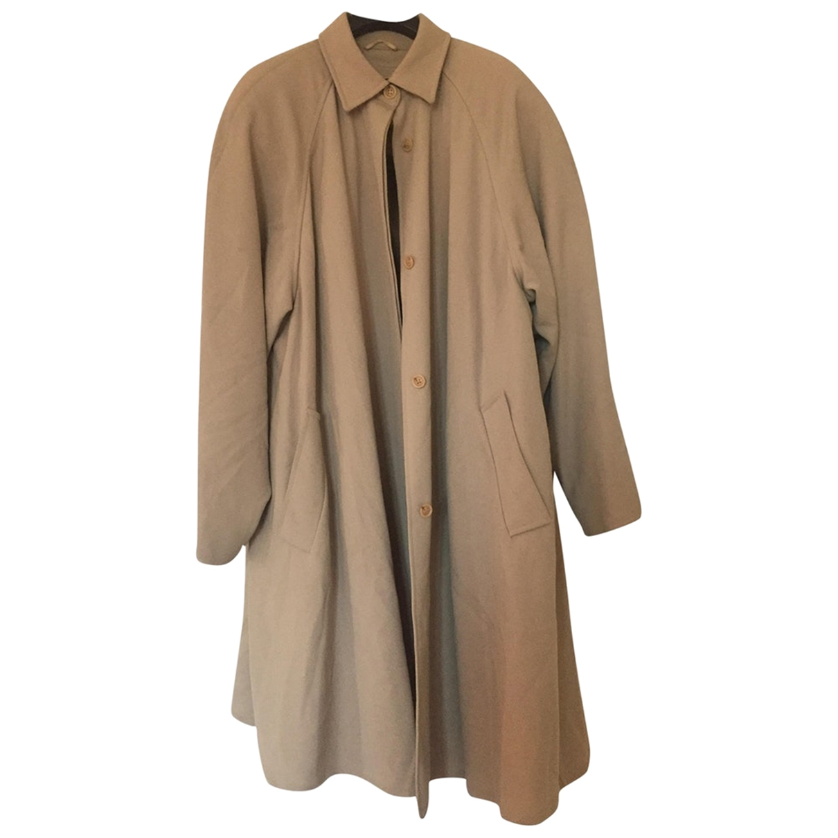 Max Mara \N Trench in  Beige Wolle