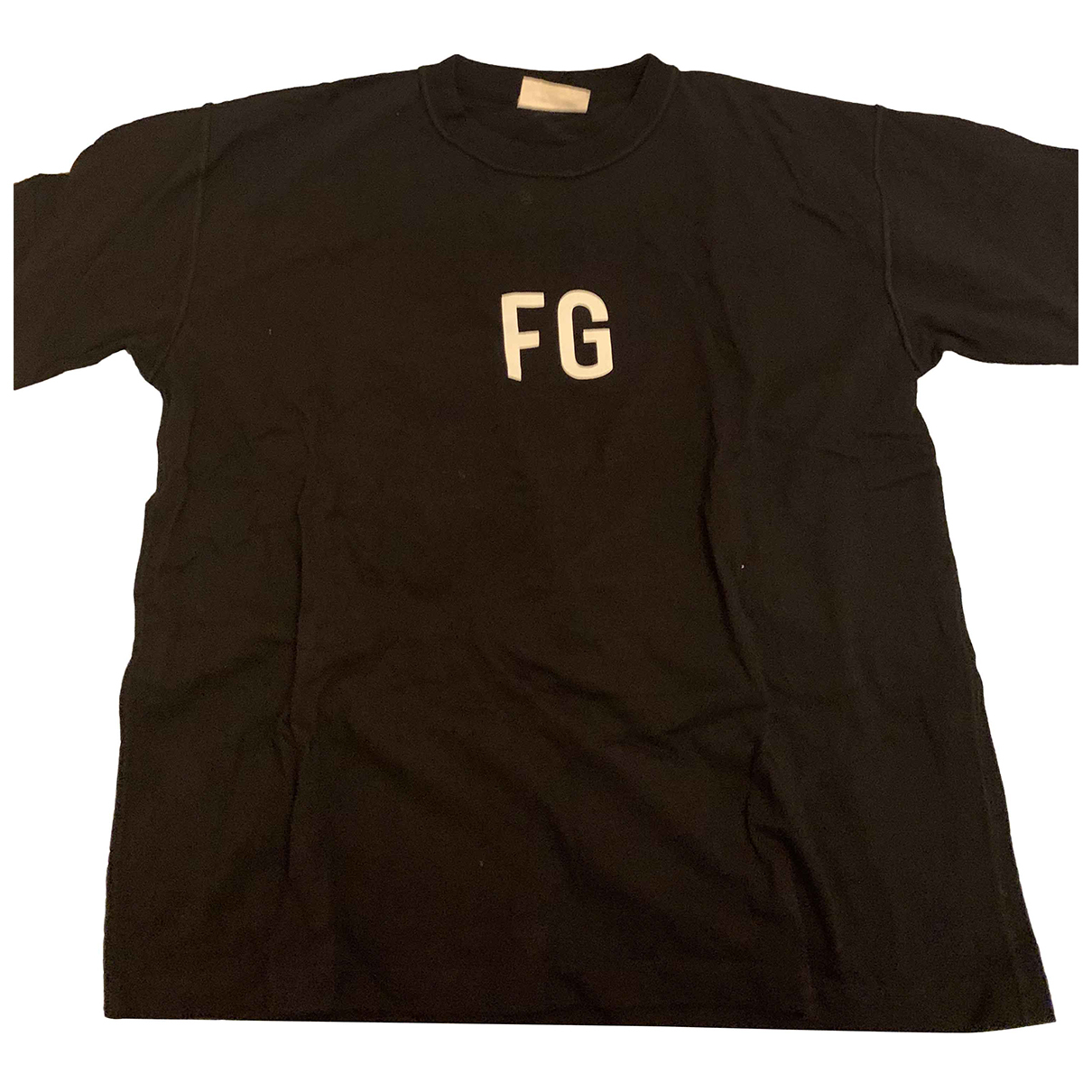 Fear Of God - Tee shirts   pour homme en coton - noir