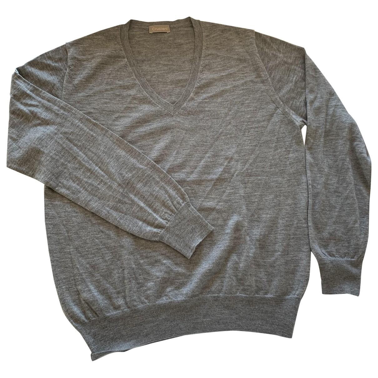 Cruciani \N Pullover.Westen.Sweatshirts  in  Grau Kaschmir