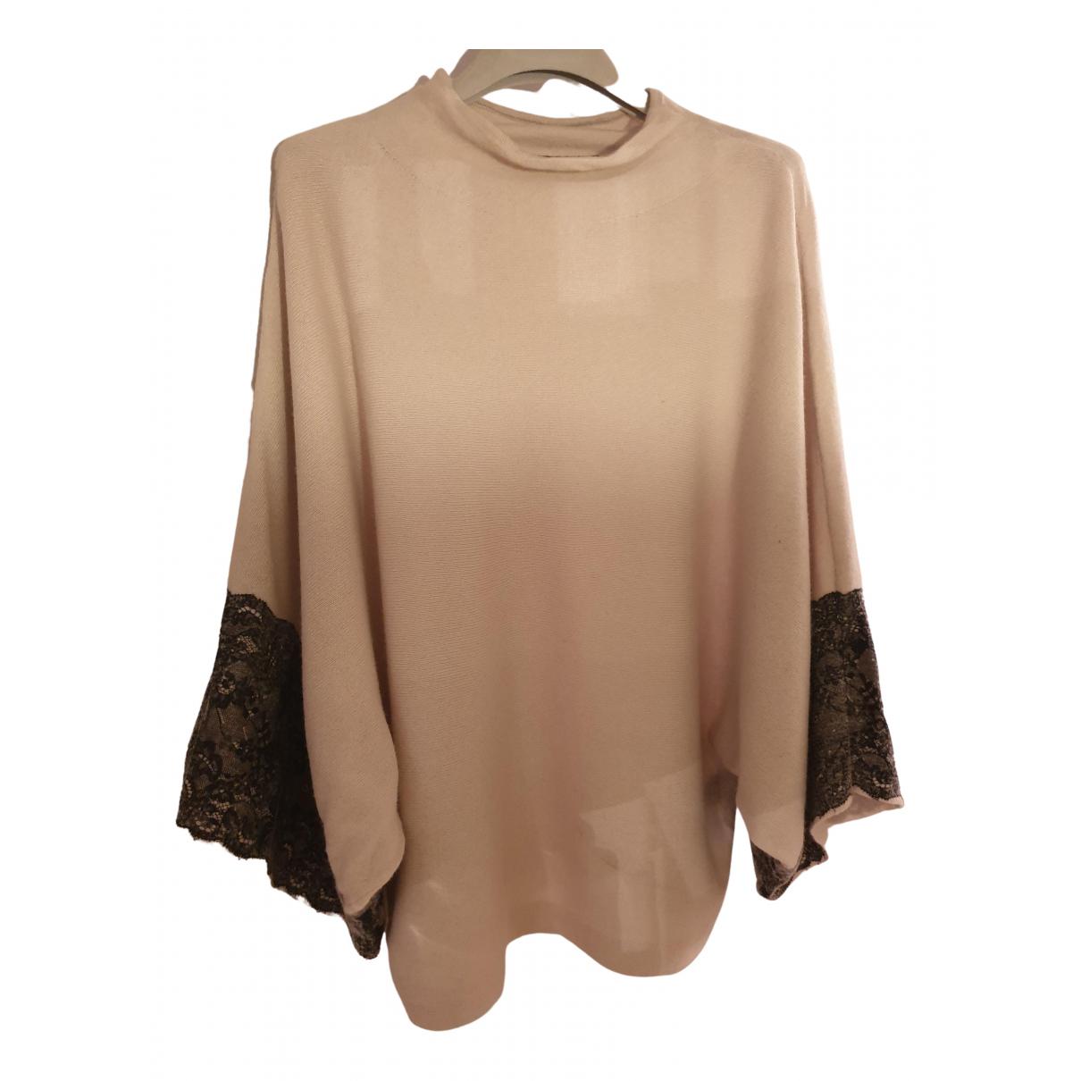 Karen Millen - Pull   pour femme en laine - beige