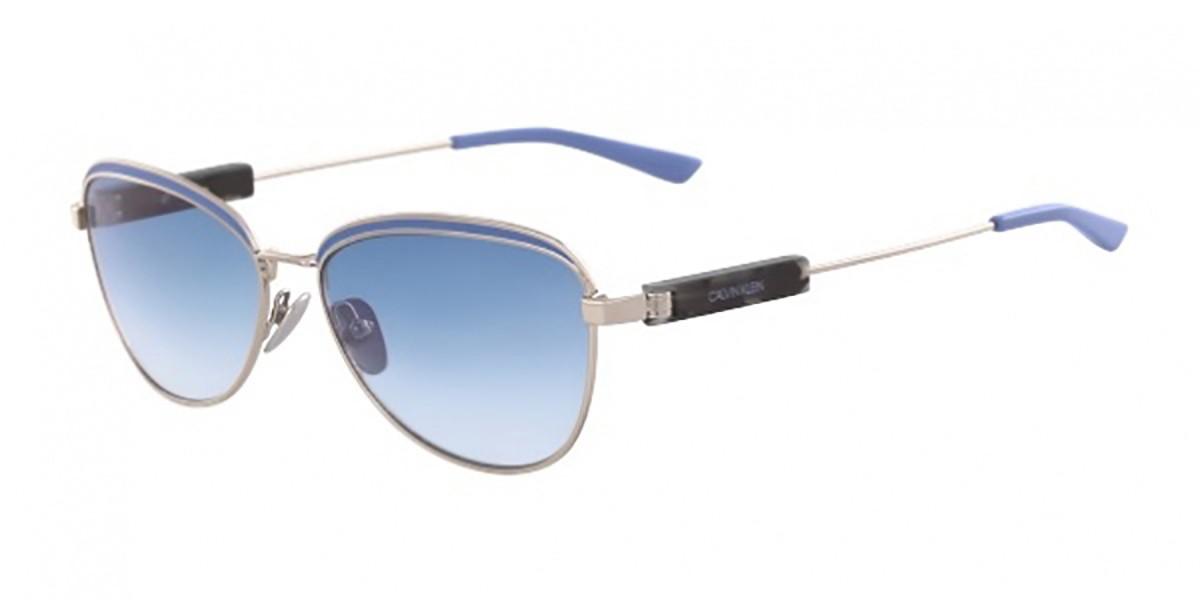 Calvin Klein CK18113S 046 Women's Sunglasses Gold Size 57