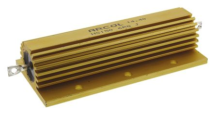 Arcol HS150 Series Aluminium Housed Axial Wire Wound Panel Mount Resistor, 6.8Ω ±5% 150W