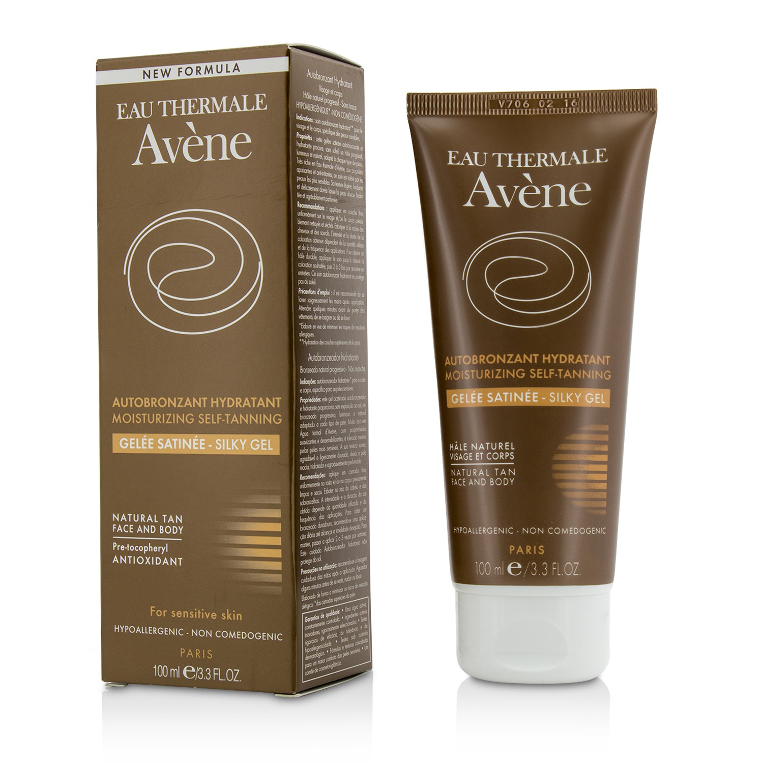 Moisturizing Self-tanning Silky Gel For Face & Body