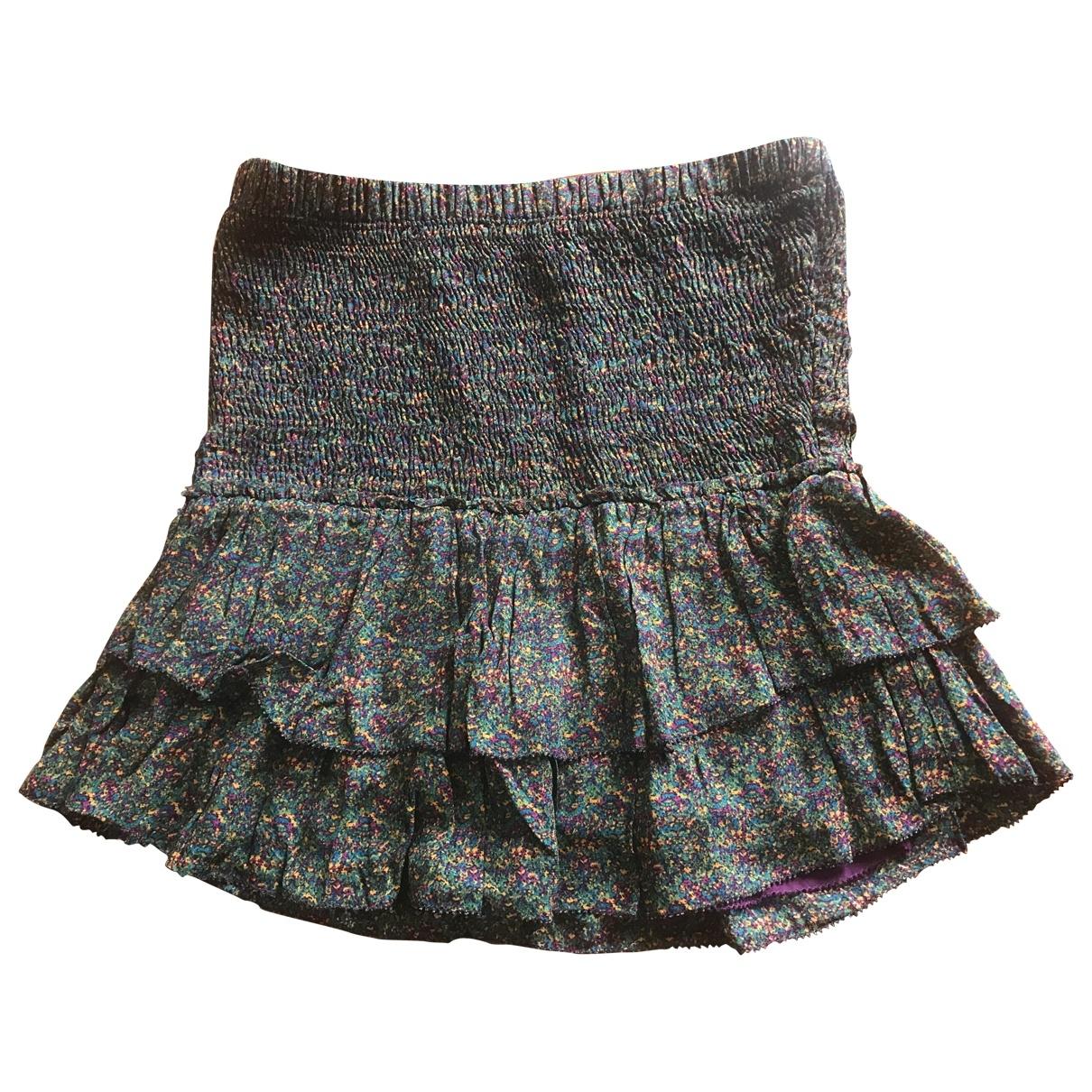 Isabel Marant Etoile \N Purple Silk skirt for Women 40 FR
