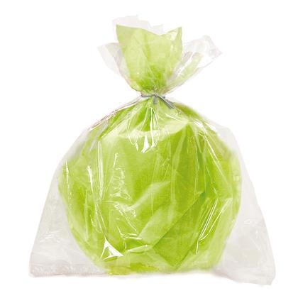 Grands sacs transparents en cellophane, 20