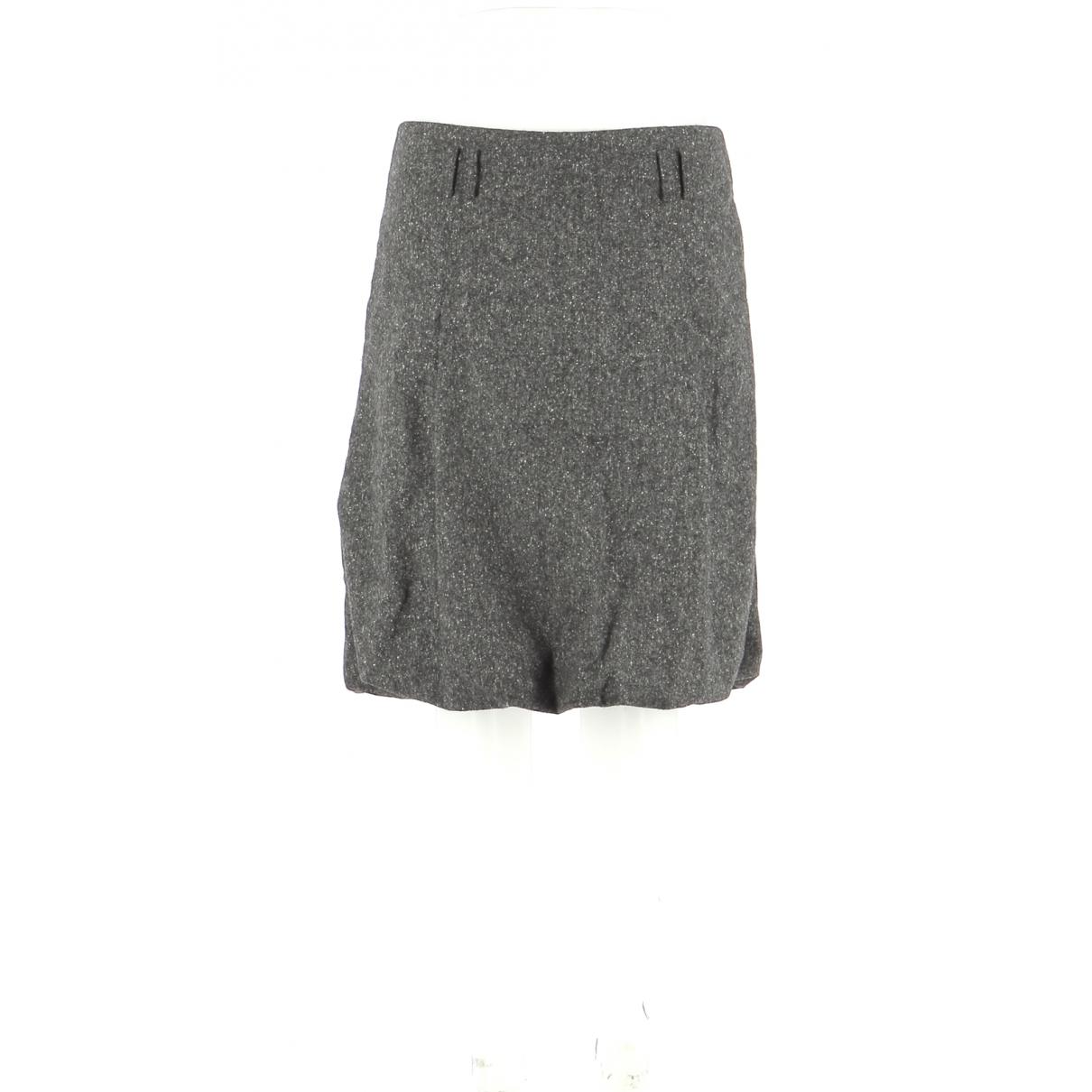 Tommy Hilfiger \N Grey Wool skirt for Women 40 FR