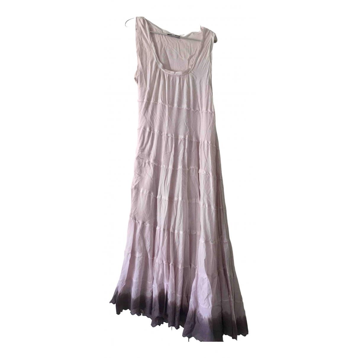 Patrizia Pepe N Pink Cotton dress for Women 44 IT