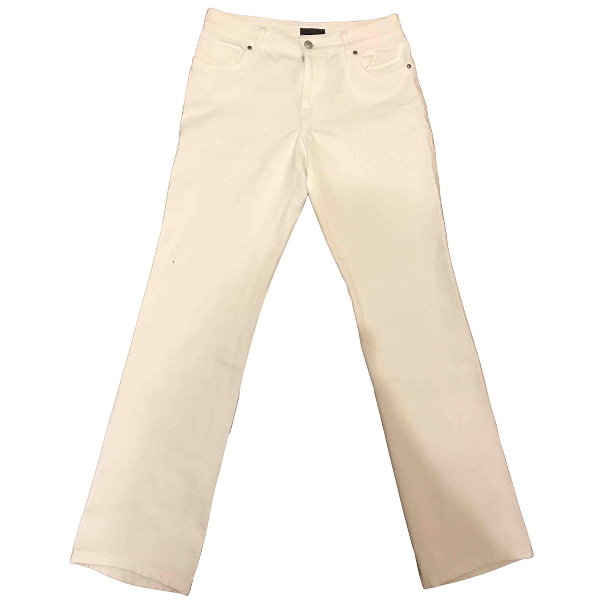 John Richmond - Pantalon   pour femme en coton - blanc