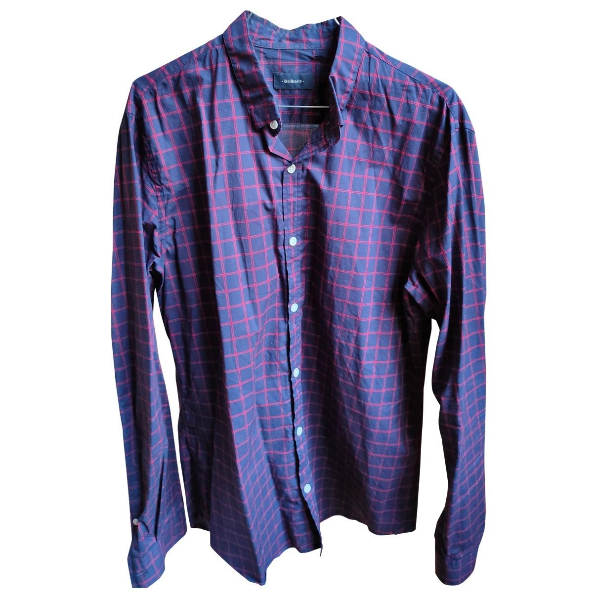 Balibaris \N Blue Cotton Shirts for Men L International