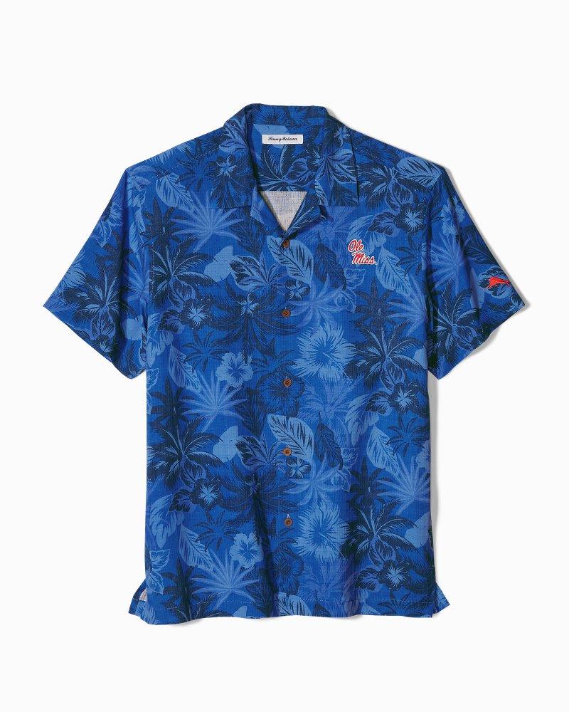Collegiate Fuego Floral Camp Shirt