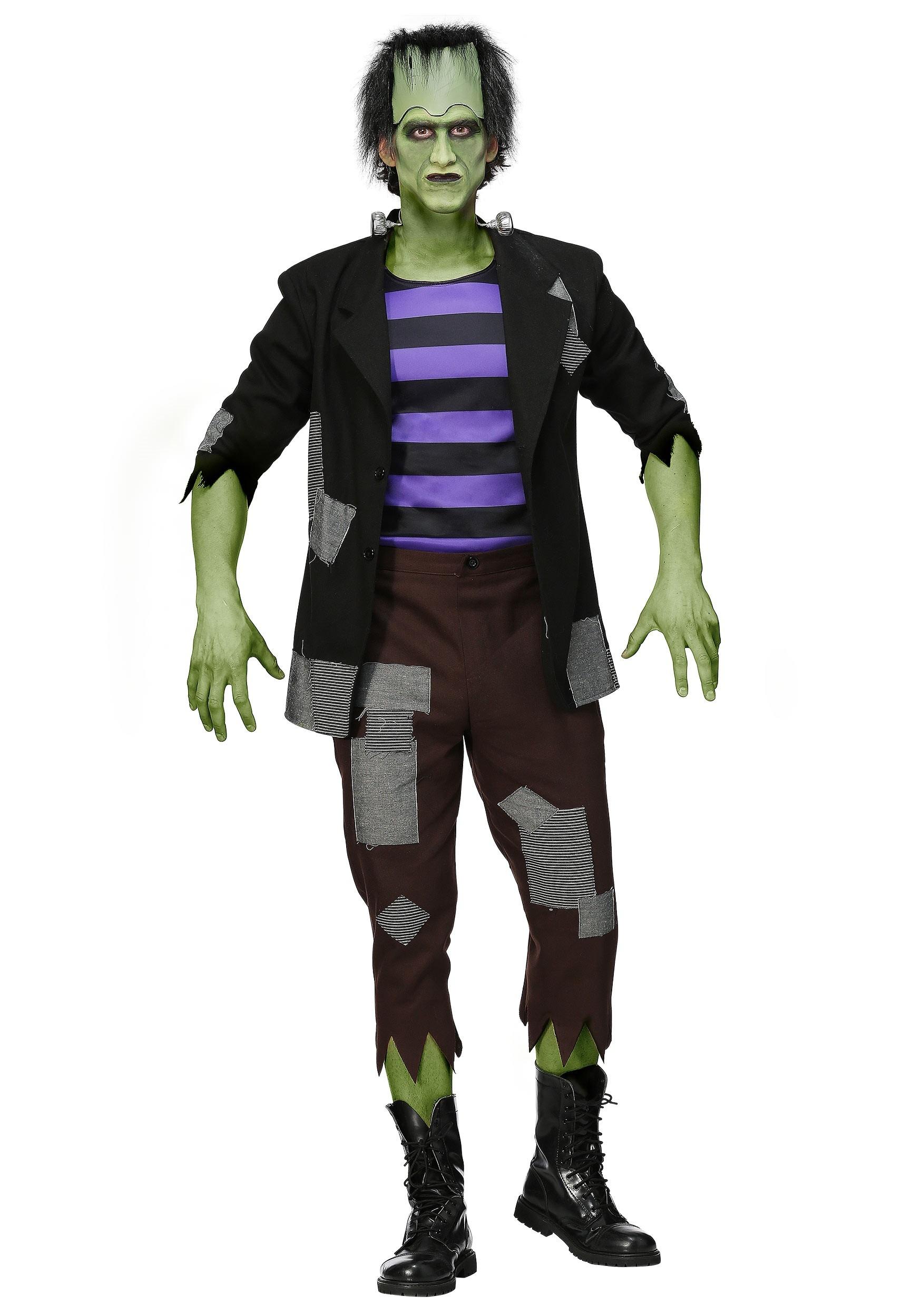 Frankenstein's Men's Plus Size Monster Costume