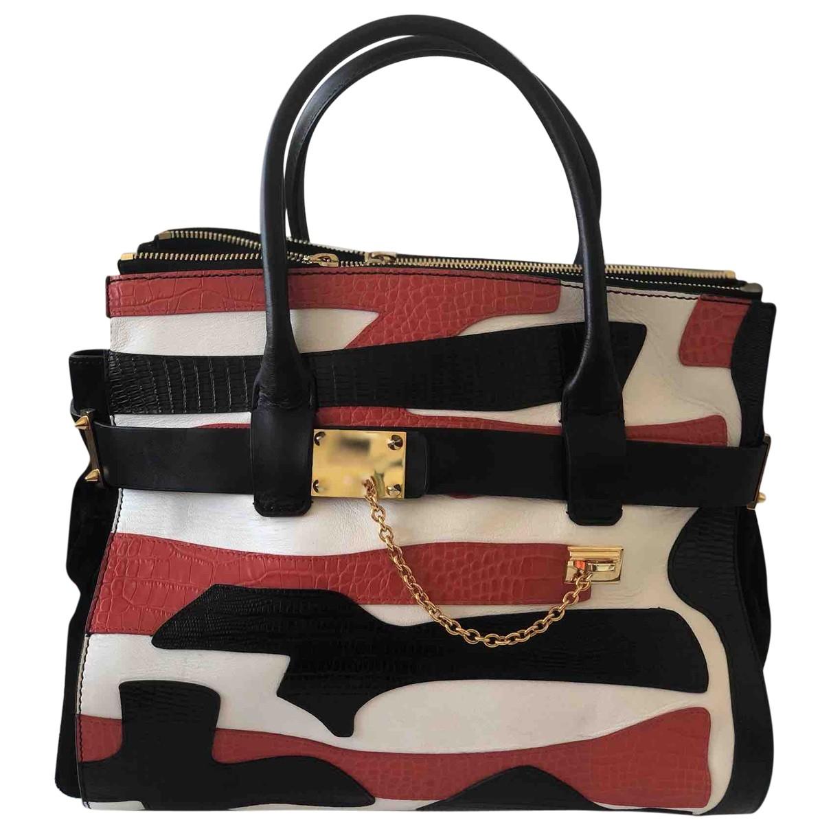 Dsquared2 \N Handtasche in  Bunt Leder