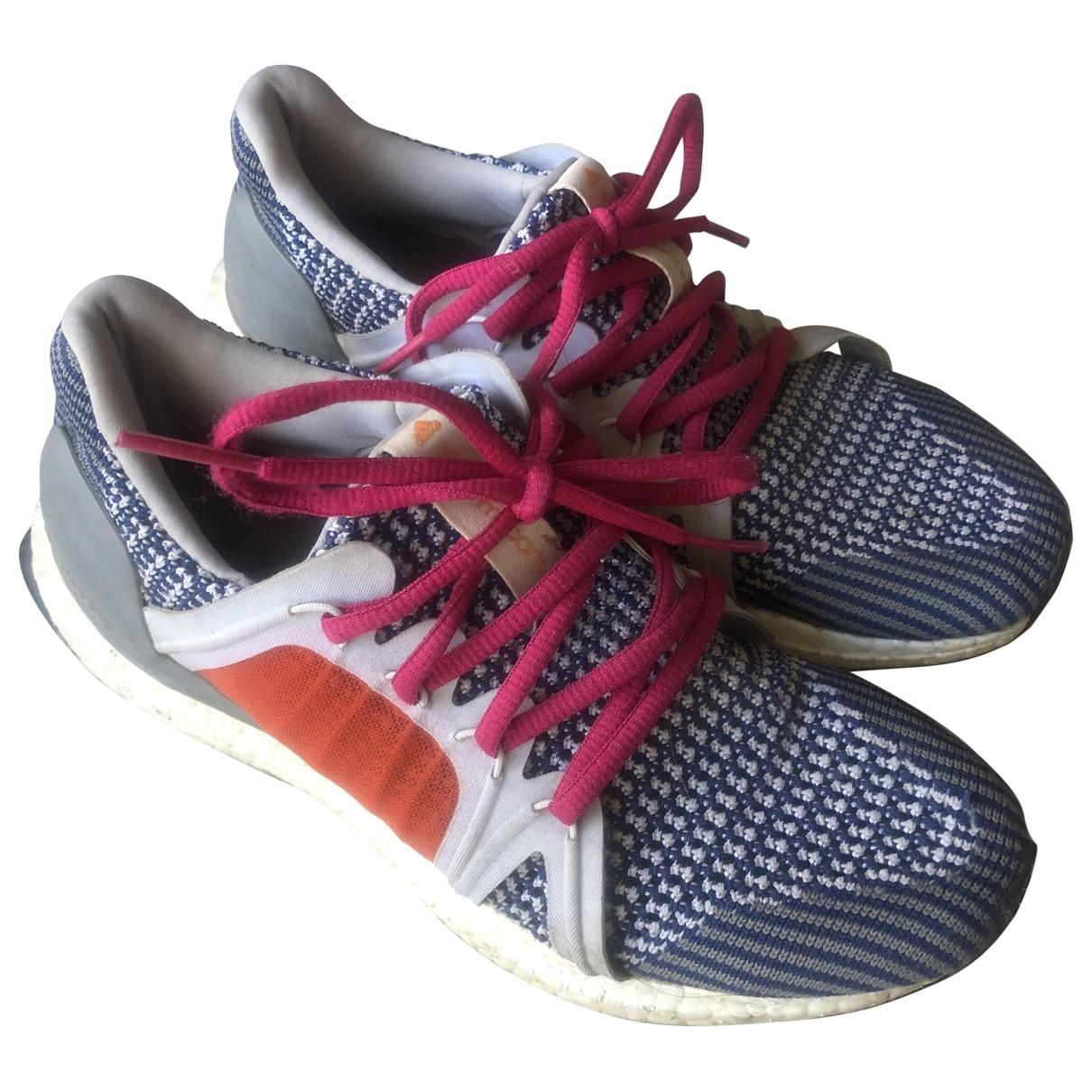 Stella Mccartney Pour Adidas \N Grey Rubber Trainers for Women 38 EU
