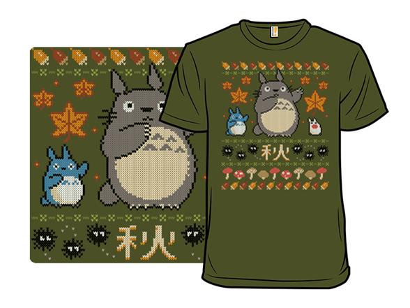 Fall Spirits Sweater T Shirt