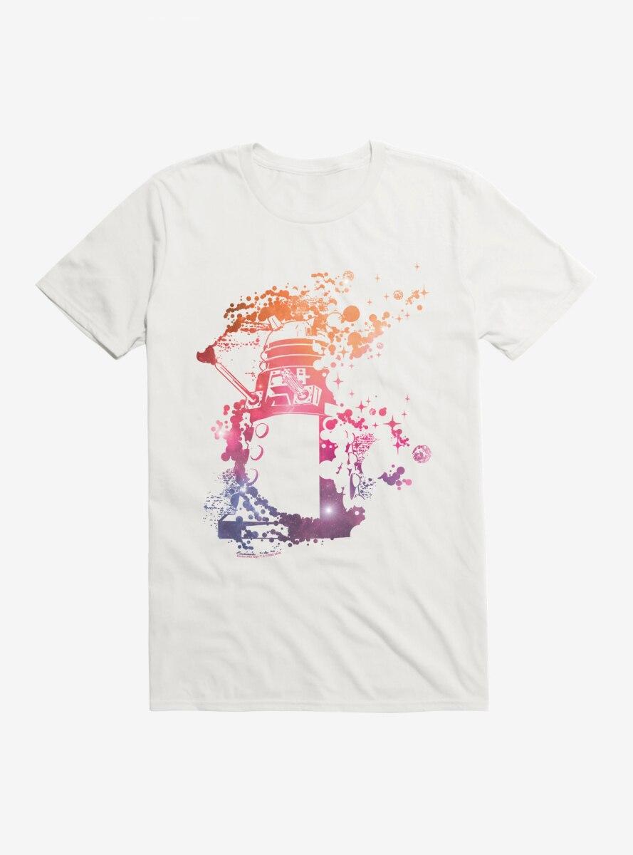 Doctor Who Dalek Splatter Art T-Shirt