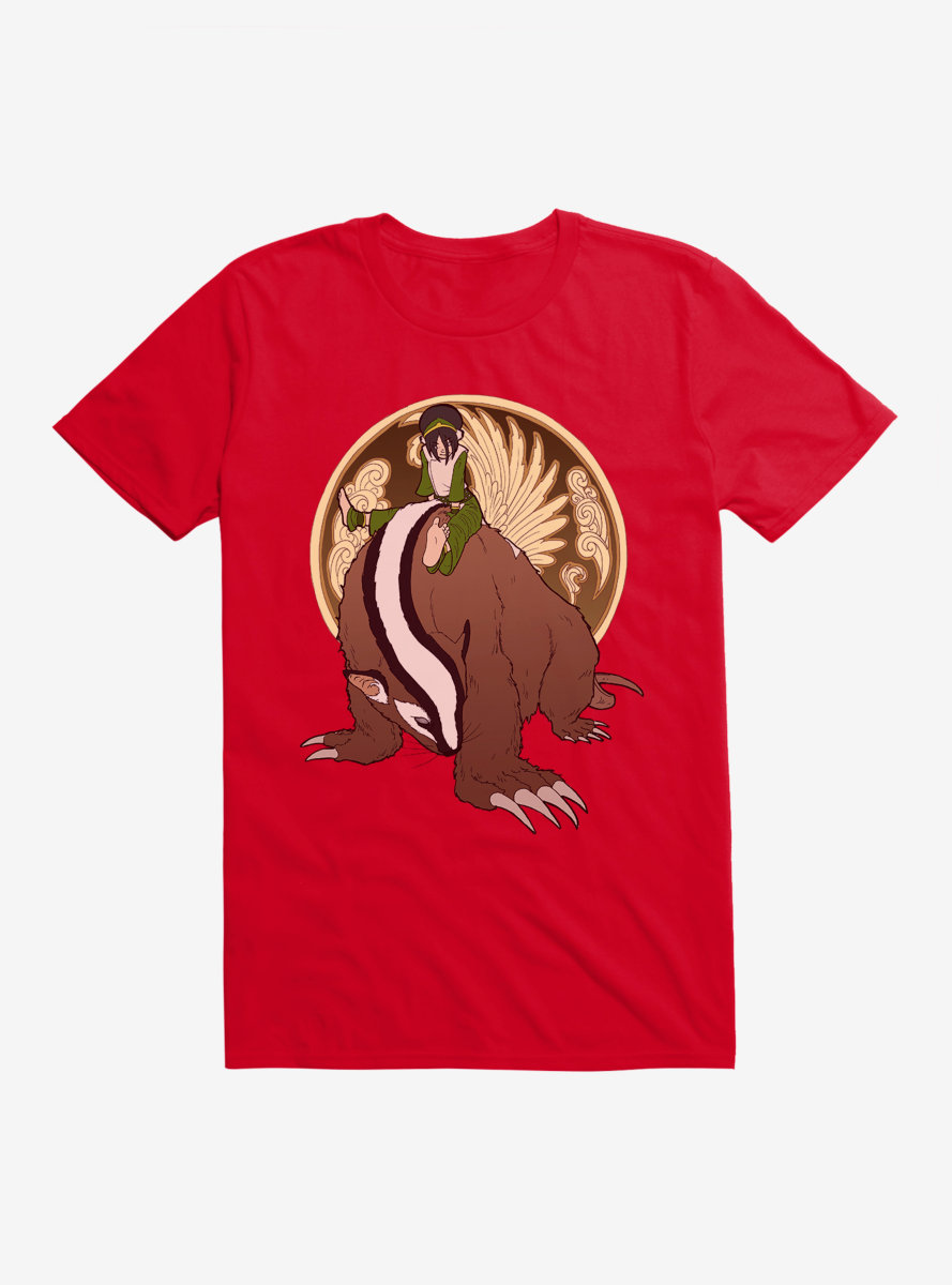 Avatar: The Last Airbender Toph And The Badgermole T-Shirt