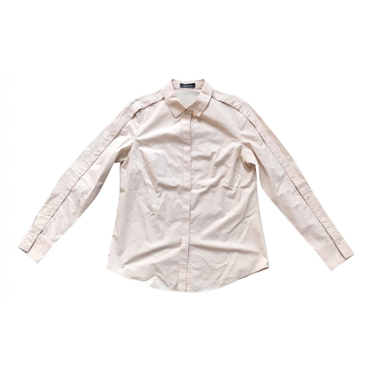 Maryling - Top   pour femme en coton - rose