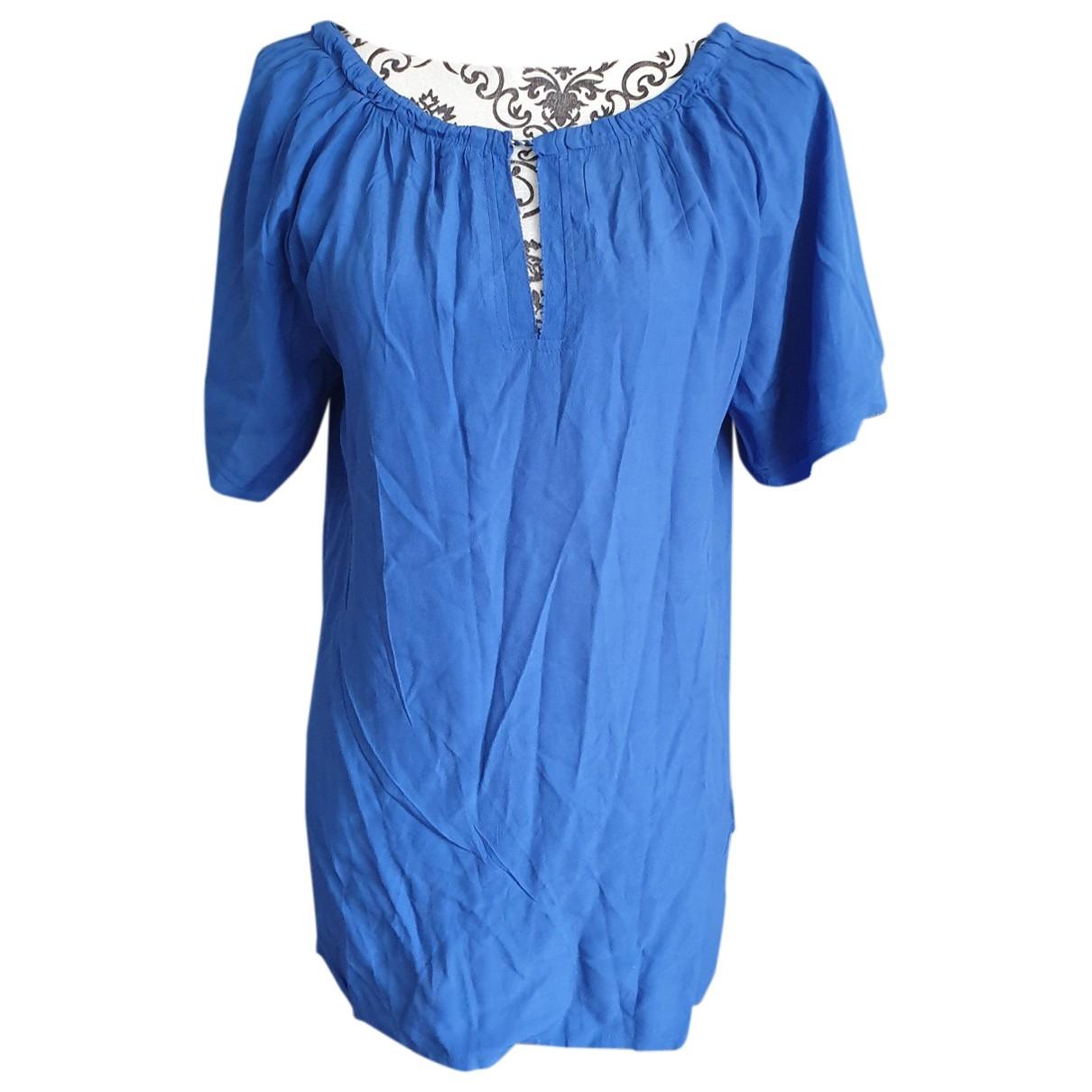 Comptoir Des Cotonniers \N Top in  Blau Baumwolle