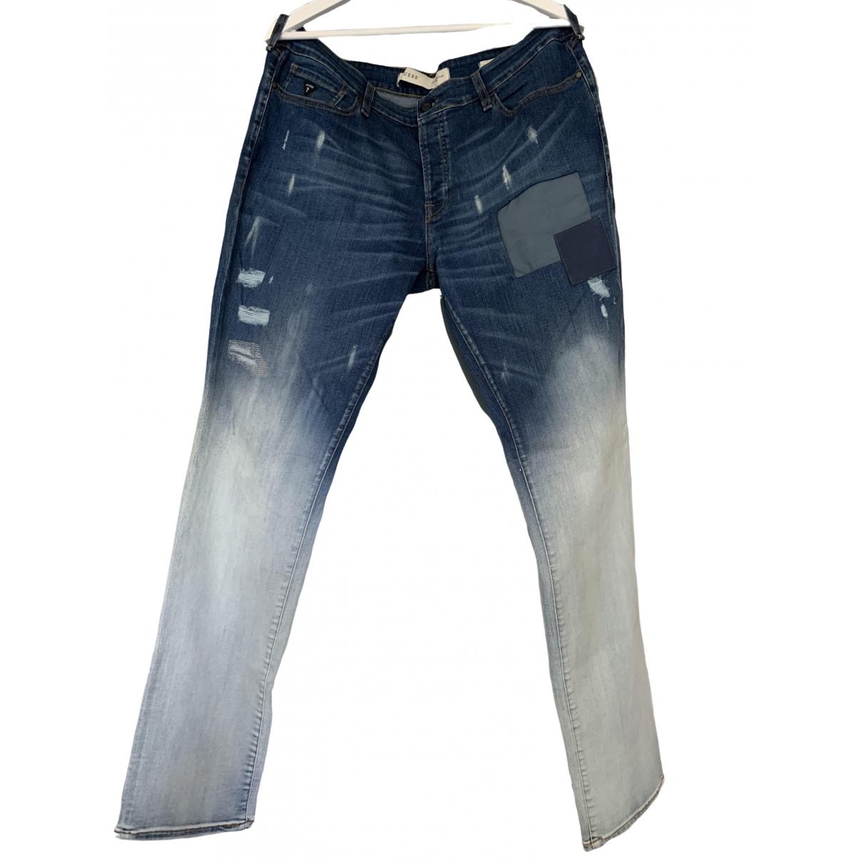 Guess \N Jeans in  Blau Baumwolle