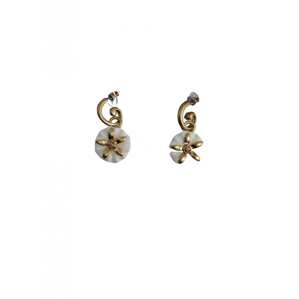 Oscar De La Renta \N Gold Metal Earrings for Women \N