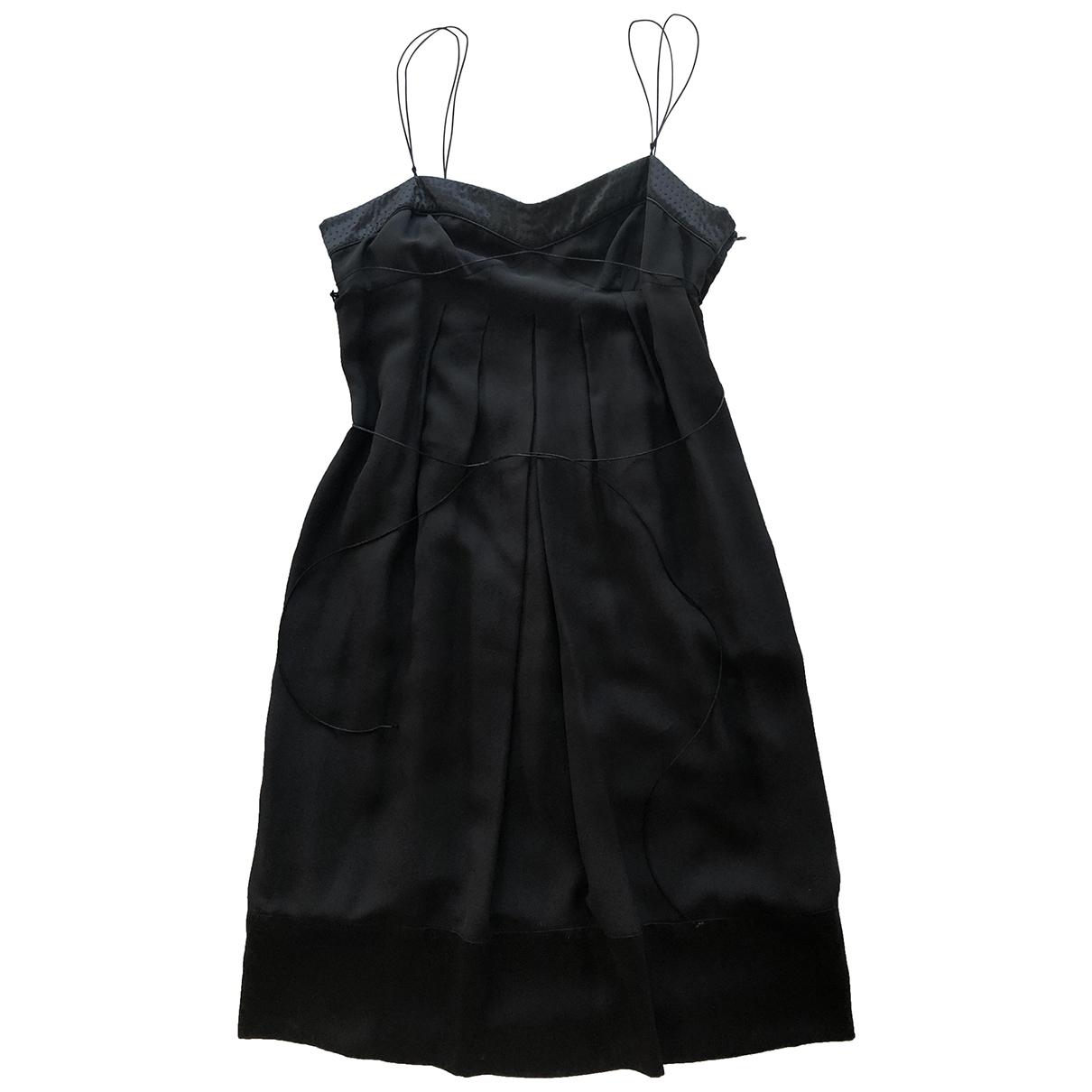 Paule Ka \N Black Silk dress for Women 40 FR