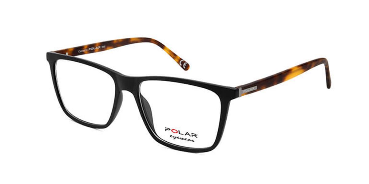Polar PL 1951 480 Men's Glasses Black Size 54 - Free Lenses - HSA/FSA Insurance - Blue Light Block Available