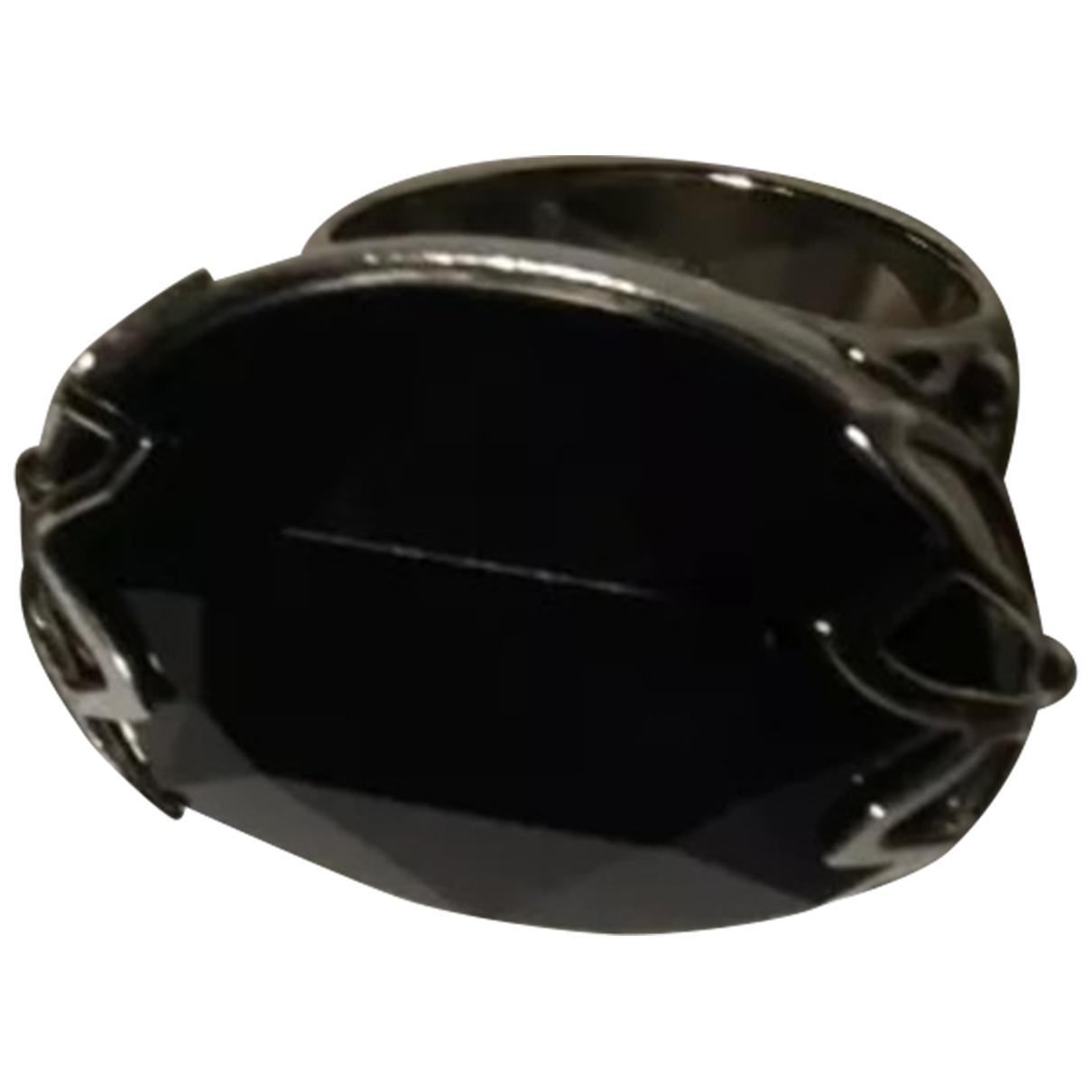Swatch - Bague   pour femme en acier - noir